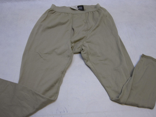ARMY DESERT TAN GEN III BASE LAYER WAFFLE GRID FLEECE PANTS MED/REG b3