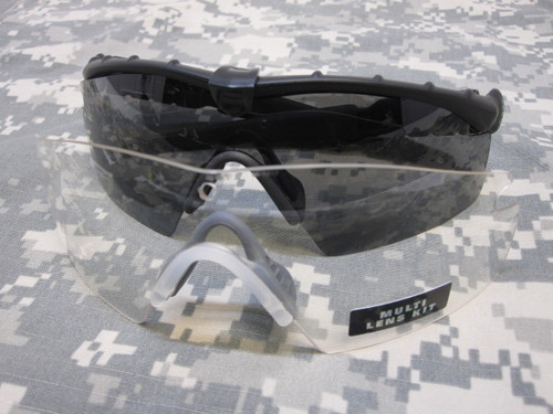 OAKLEY MILITARY SI M-FRAME 2.0 SUNGLASSES KIT CLEAR & DARK LENS OAKLEY's