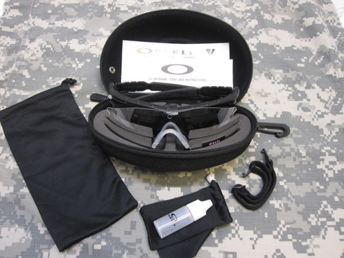NEW OAKLEY MILITARY SI M-FRAME 2.0 SUNGLASSES KIT CLEAR & DARK LENS OAKLEY's