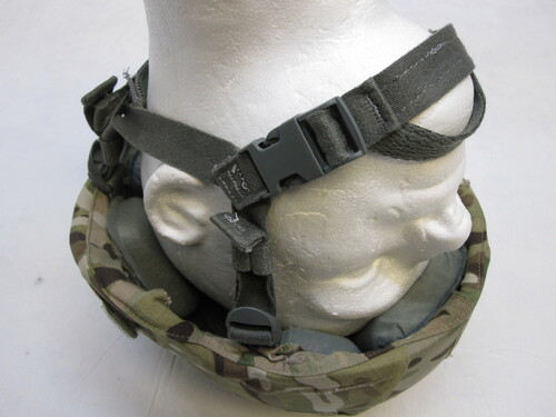 ARMY OCP ADVANCED COMBAT HELMET ACH/MICH MADE W/ KEVLAR MEDIUM MULTICAM COVER