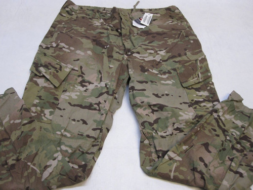 ARMY ISSUE MULTICAM COMBAT PANTS FLAME RESISTANT FRACU X-LARGE/REG TROUSER C1