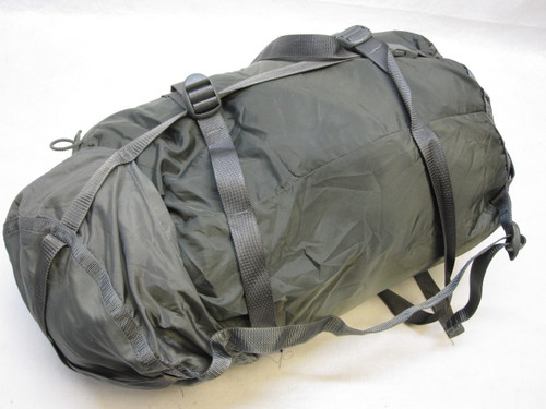 ARMY FOLIAGE GREY SLEEPING BAG LARGE COMPRESSION SACK MILITARY SLEEP SYSTEM