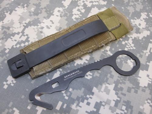 BENCHMADE 8MED RESCUE HOOK KNIFE SAFETY SEATBELT STRAP CUTTER a8