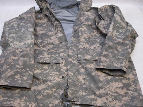 ARMY ACU DIGITAL GEN 2 GORE-TEX JACKET X-LARGE/REGULAR PARKA COLD/WET br