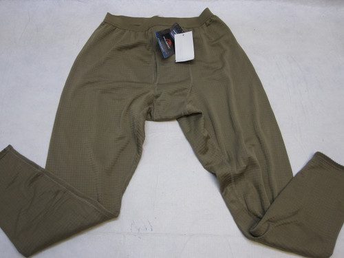 ARMY OCP GEN III BROWN POLARTEC GRID FLEECE PANTS WAFFLES MEDIUM/REGULAR c0