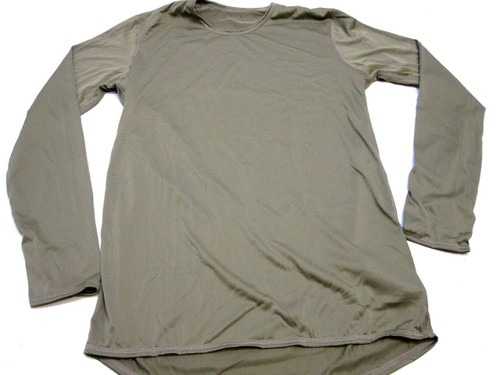ARMY OCP SILK WEIGHT TOP LEVEL 1 BASE LAYER SHIRT MEDIUM/REGULAR UNDERSHIRT C0