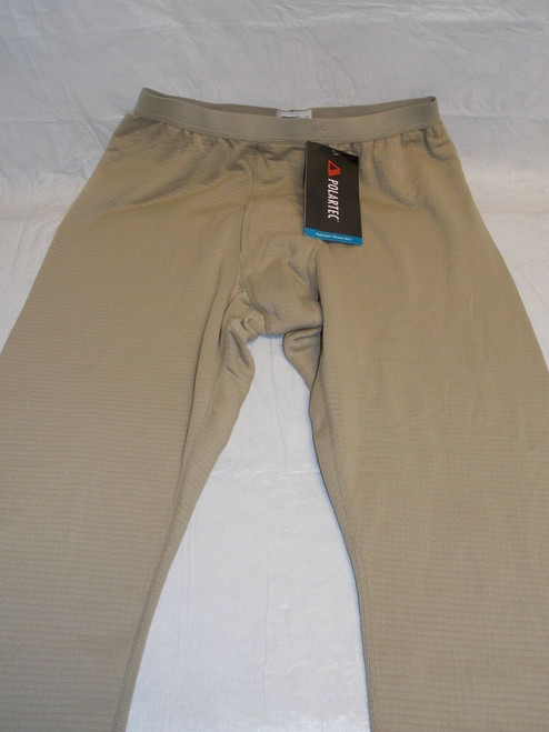 GEN III TAN POLARTEC MID-WEIGHT LEVEL 2 GRID FLEECE WAFFLE PANTS MEDIUM/LONG b0