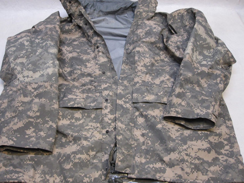 ARMY ACU DIGITAL GEN 2 GORE-TEX JACKET MEDIUM/LONG PARKA COLD/WET b0