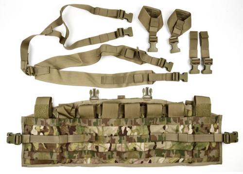 ARMY OCP TACTICAL ASSAULT PANEL TAP MULTICAM CHEST RIG LOAD CARRIER FLICK VEST