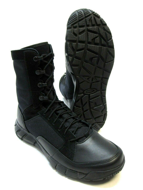 NEW OAKLEY SI LIGHT PATROL BOOT BLACK MILITARY TACTICAL DUTY BOOTS BLACKOUT