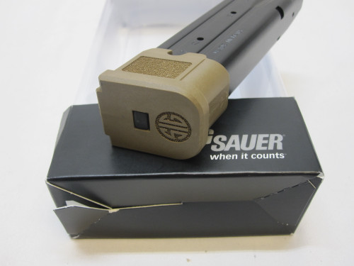 SIG SAUER M17 P320 EXTENDED HIGH CAPACITY 21 ROUND MAGAZINE