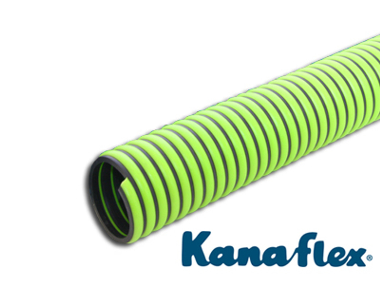 per foot Kanaflex 300 EPDM Green 3 inch All Weather Suction Hose