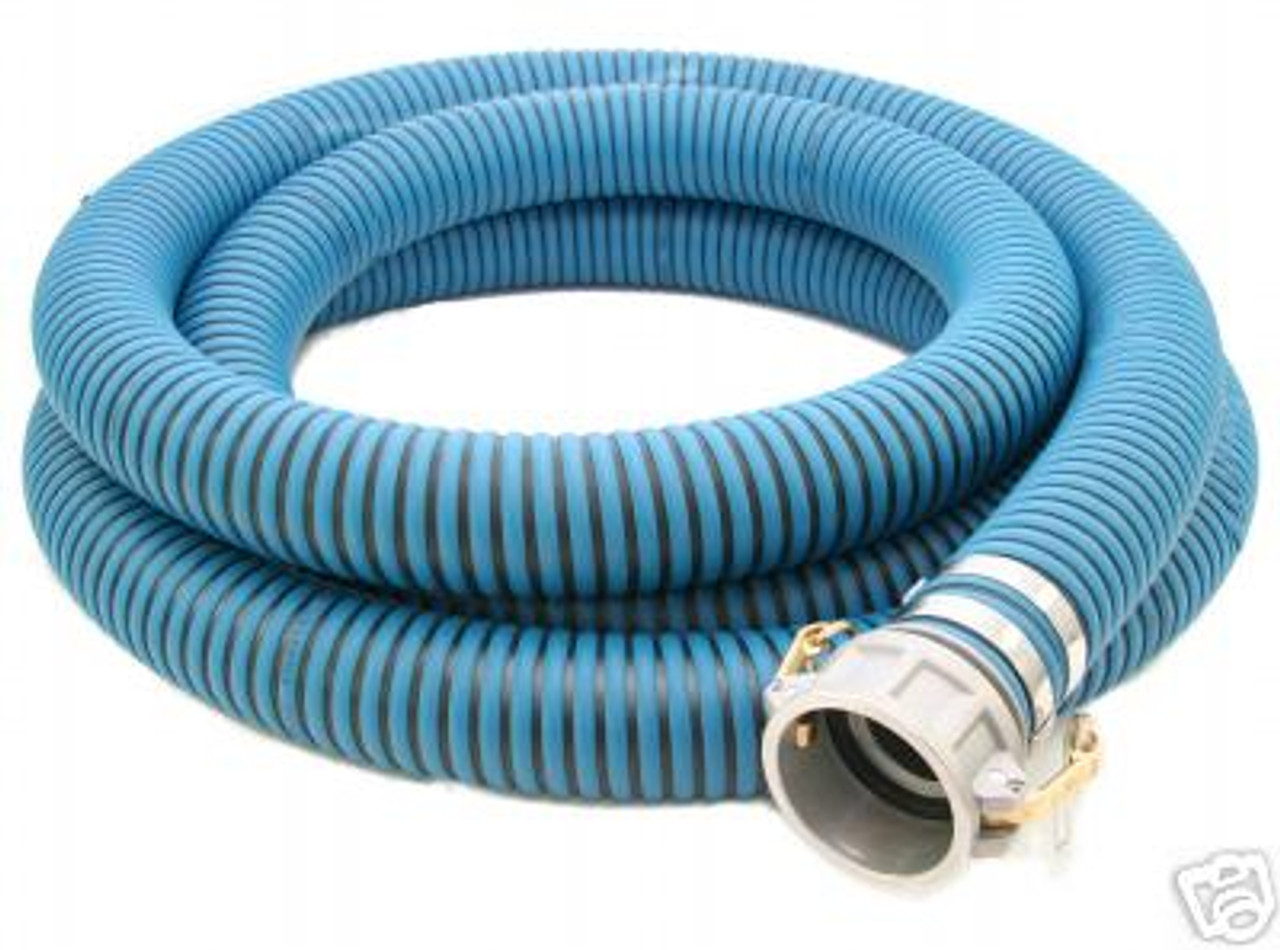 All Weather Blue EPDM Suction Hose Assembly (C x E)