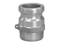 Aluminum Part 'F' Male Adapter
