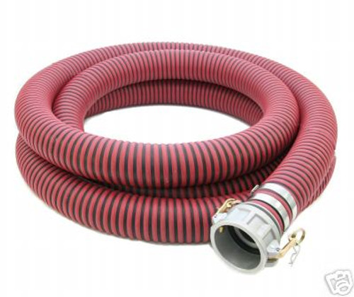 All-Weather Red EPDM Suction Hose Assembly (C x E)