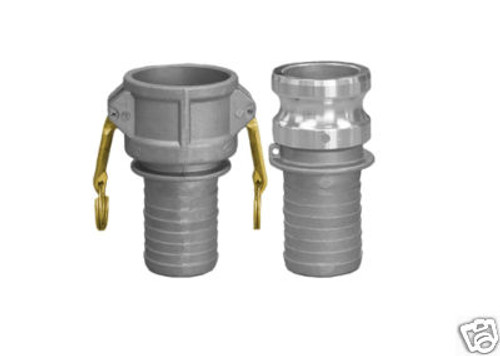 Aluminum Quick-Couplings Set (C & E)