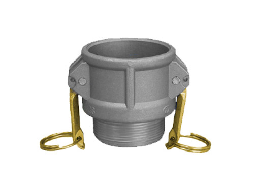 Aluminum Part 'B' Male Coupler