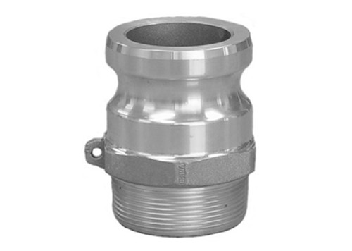 Aluminum Part 'F' Male Adapter