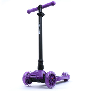 i-Glide Scooter Front | Purple