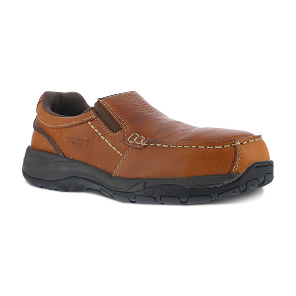 Rockport Works Extreme Light Casual Slip On Composite Toe Shoe RB6748