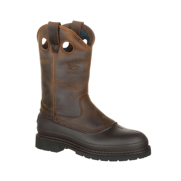 "Georgia 12"" Mud Dog Comfort Core Wellington Boots G5514"