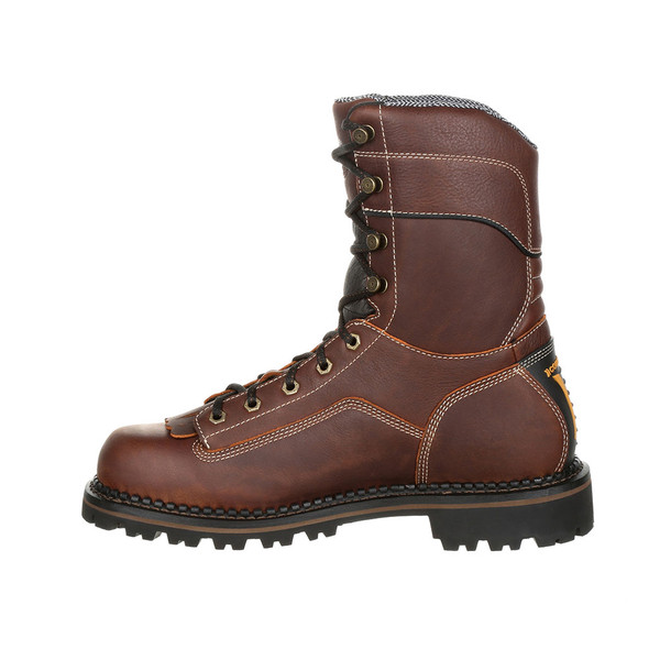 Georgia AMP LT Low Heel Logger Composite Toe Waterproof Boots GB00238