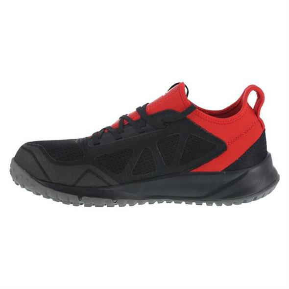 Reebok All Terrain Work Steel Toe Shoe Blk/Red RB4093