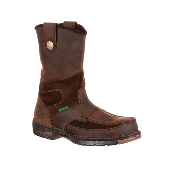 "Georgia 10"" Athens Waterproof Wellington Boots G4403"