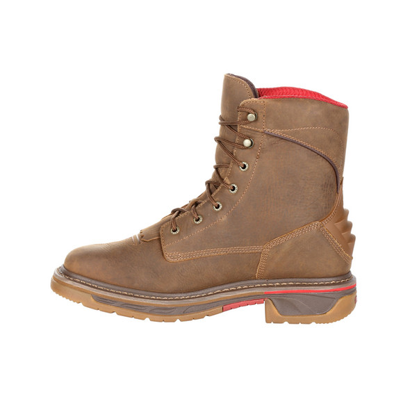 Rocky Iron Skull Waterproof Lacer Western Boot RKW0286