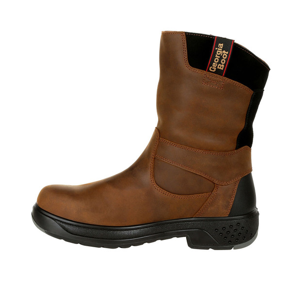 "Georgia 10"" FLXpoint Pull-On Composite Toe Waterproof Boots G5644"