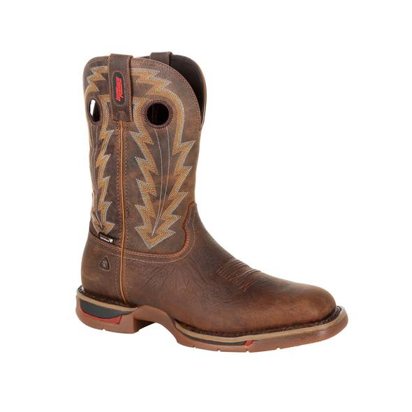 """Rocky Long Range 11"""" Waterproof Western Boot RKW0278"""