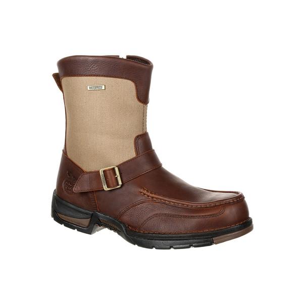 Georgia Athens Moc Toe Waterproof Side Zip Boot GB00245