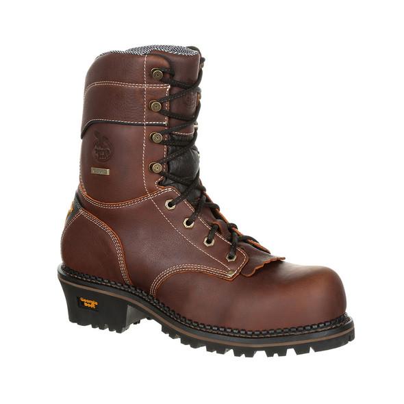 Georgia AMP LT Composite Toe Waterproof Logger Boots GB00236