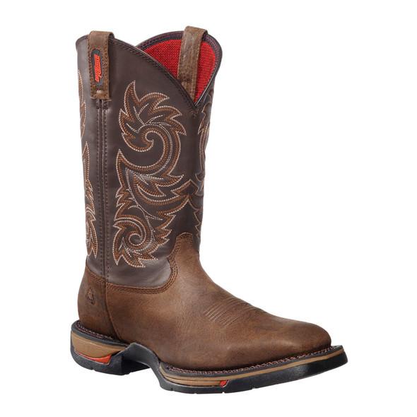 """Rocky 12"""" Long Range Square Toe Steel Toe Waterproof Boots FQ0006654"""