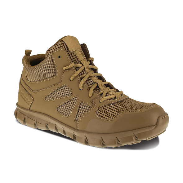 Reebok Sublite Cushion Tactical Mid Coyote Boots RB8406