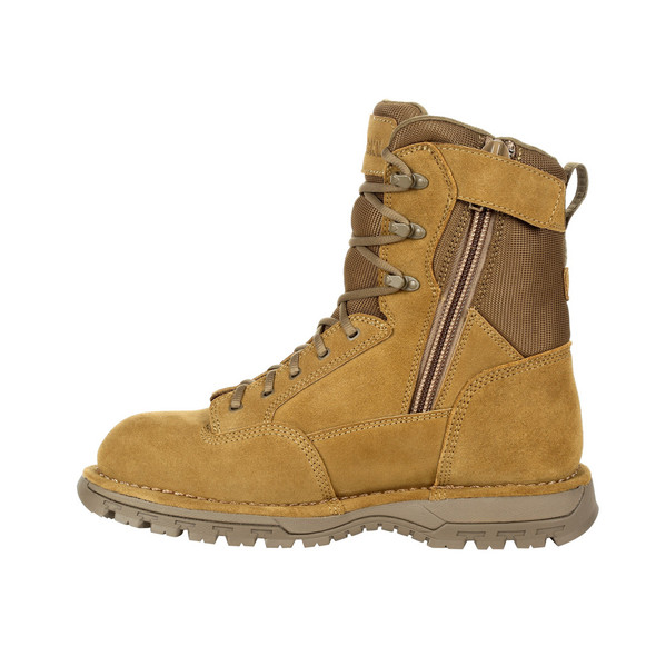 "Rocky Portland 8"" Coyote Side Zip Composite Toe Public Service Boot RKD0070"