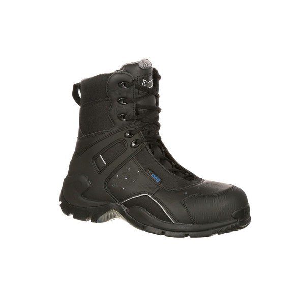 Rocky 1st Med Carbon Fiber Toe Puncture Resistant Side Zip Waterproof Boots  FQ0911113