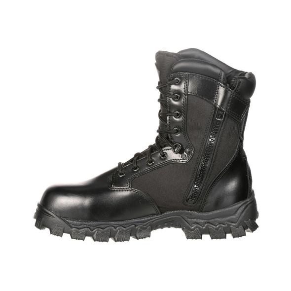 """Rocky 8"""" Alpha Force Side-Zip Waterproof Boots FQ0002173"""