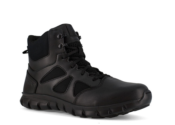 "Reebok 6"" Sublite Cushion Tactical Side Zip Boots RB8605"