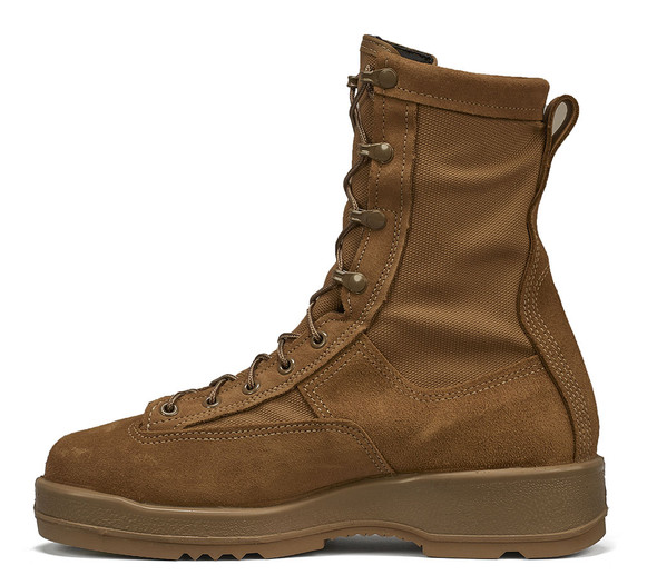 Belleville 330 COYST Coyote Steel Toe Flight Boots 330COYST