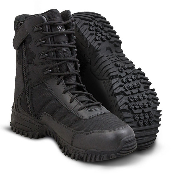 "Altama 8"" Vengeance Black SR Side-Zip Boots 305301"