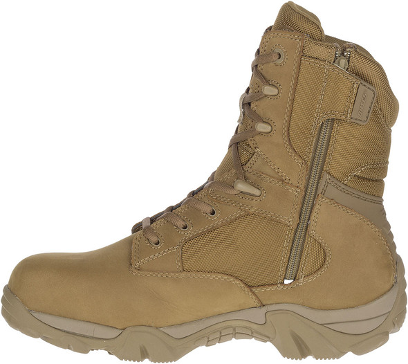 Bates Men's GX-8 Coyote Composite Toe Side Zip Waterproof Boots E04272