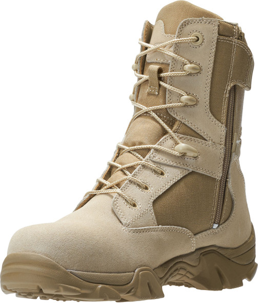 Bates Men's GX-8 Desert Composite Toe Side Zip Boots E02276