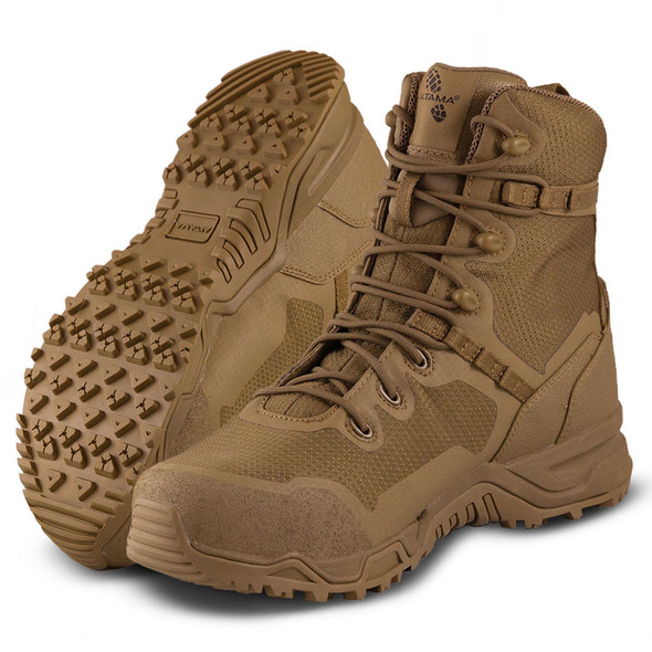 "Altama 8"" Raptor Coyote Steel Toe Boots 322003"