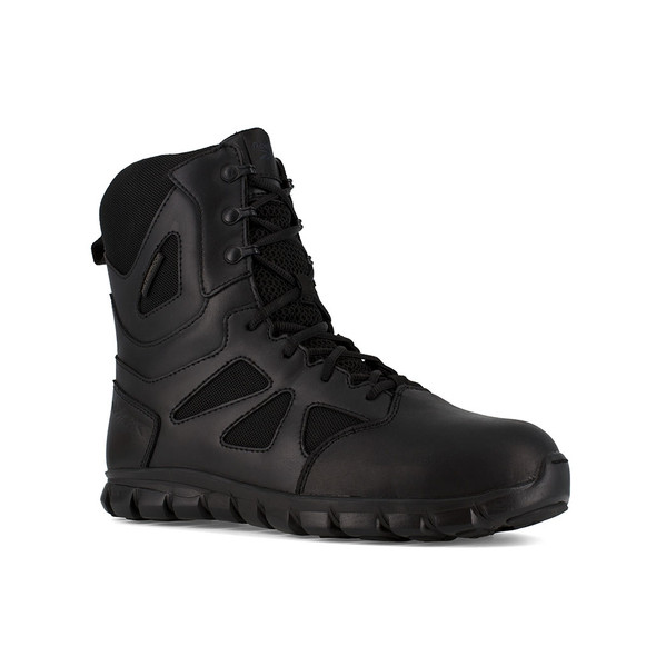 Reebok Sublite Cushion Tactical Composite Toe Side Zip Waterproof Boots RB8807