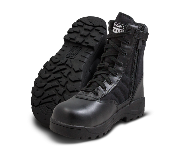 Original SWAT Classic 9'' Side Zip Safety Plus Boots 116001