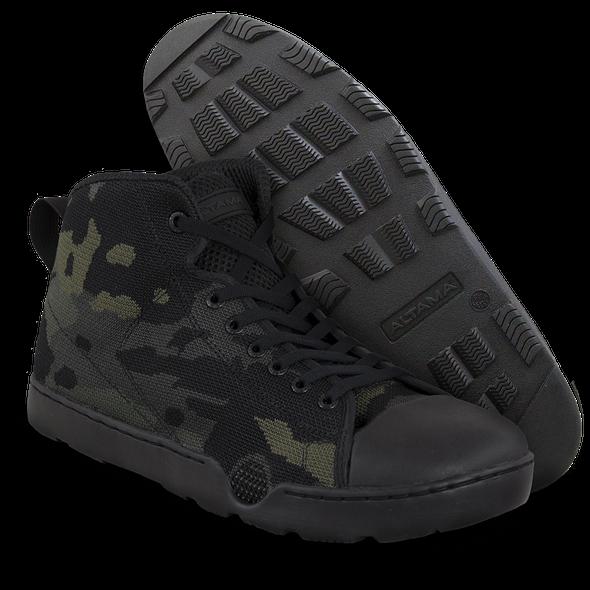 Altama Urban Assault Mid Black Multicam Boot 334651