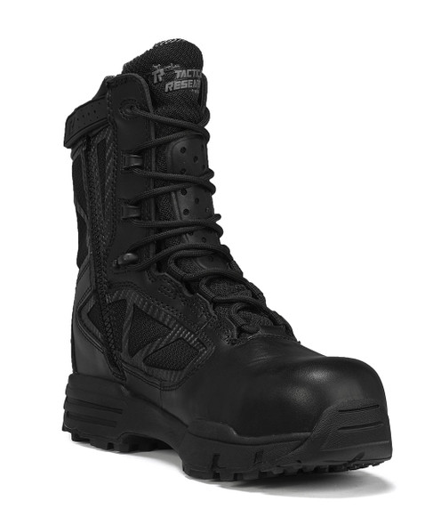 Tactical Research Chrome Composite Toe Side-Zip Waterproof Boots TR998ZWPCT