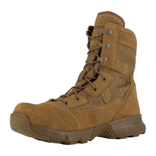 "Reebok Women's 8"" Hyper Velocity Coyote Boots RB821"