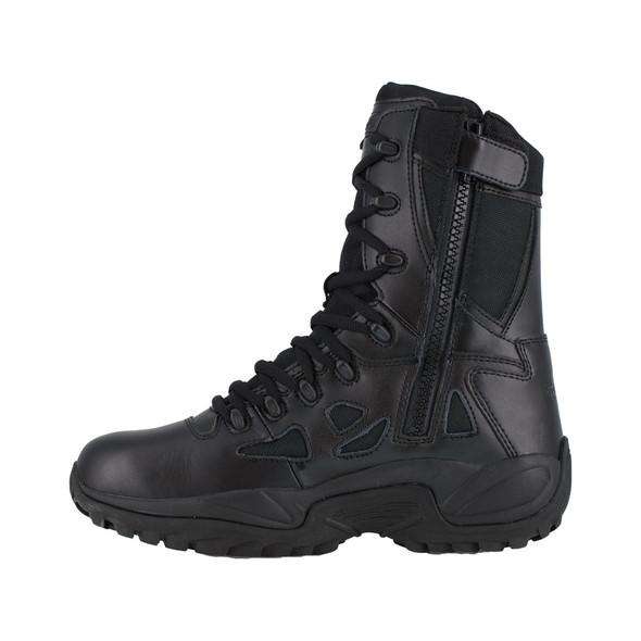 "Reebok Women's 8"" Rapid Response RB Side Zip Boots RB888"